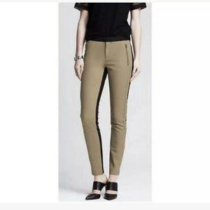 Banana Republic tan/black pants career dressy
